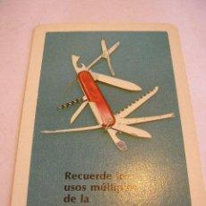 Coleccionismo Calendarios: CALENDARIO FOURNIER 1976. Lote 47320426