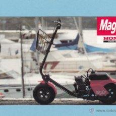 Coleccionismo Calendarios: CALENDARIO EXTRANJERO 1991 - HONDA. Lote 47497106