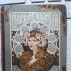 Coleccionismo Calendarios: PRECIOSO CALENDARIO DE CHOCOLATES AMATLLER 1903. Lote 47523198