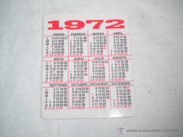 Coleccionismo Calendarios: CALENDARIO PUBLICIDAD ODI-BAKAR S.A. DURANGO 1972 - Foto 2 - 47525239