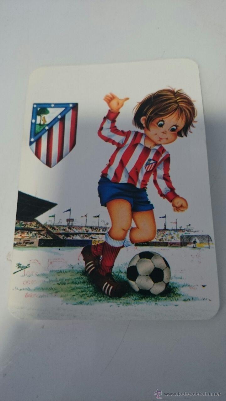 Calendario Atletico De Madrid Con Dibujo Nino A Buy Old Calendars At Todocoleccion 47569356