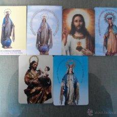 Coleccionismo Calendarios: LOTE DE CALENDARIOS RELIGIOSOS. Lote 47733270
