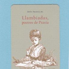 Collezionismo Calendari: CALENDARIO 2013 - KRK EDICIONES - LLAMBIADAS, POSTRES DE PRAVIA. Lote 201515718