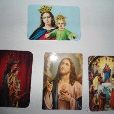 Coleccionismo Calendarios: LOTE CALENDARIOS RELIGIOSOS. Lote 48001070
