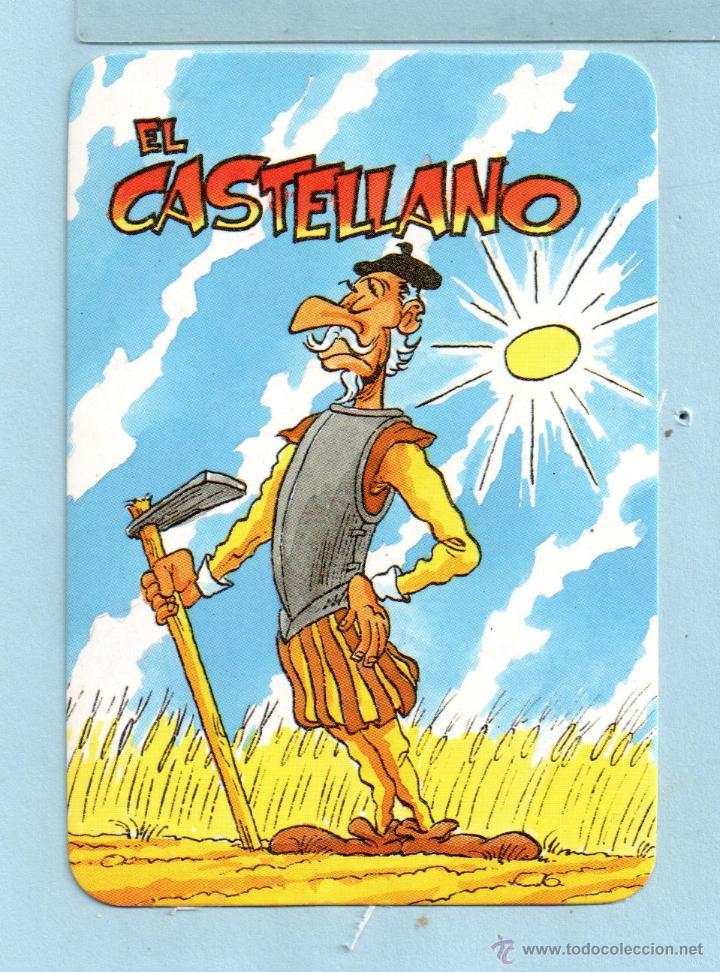 SEIS CALENDARIOS DE DIBUJOS DE PROVINCIAS SIN PUBLICIDAD EDICIÓN ED.DEL AÑO 1995 DE ESPAÑOL (Coleccionismo - Calendarios)