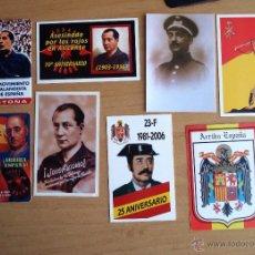 Coleccionismo Calendarios: LOTE CALENDARIOS FRANCO JOSE ANTONIO FALANGE. Lote 48032853