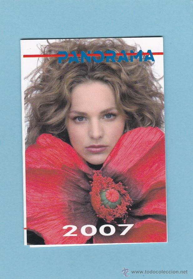 Calendario Panorama.Calendario Extranjero 2007 Panorama Mujer