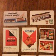 Coleccionismo Calendarios: LOTE OCHO CALENDARIOS PELIKAN. AÑOS 1967,72,72,73,77,77,78,84. Lote 48405359
