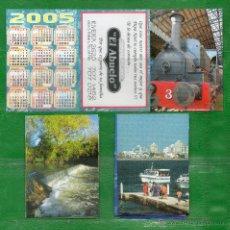 Coleccionismo Calendarios: URUGUAY- 3 CALENDARIOS DE LA MISMA EMPRESA. Lote 48409037