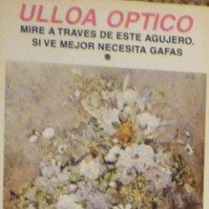Coleccionismo Calendarios: CALENDARIO ULLOA OPTICO 1999. Lote 48436792