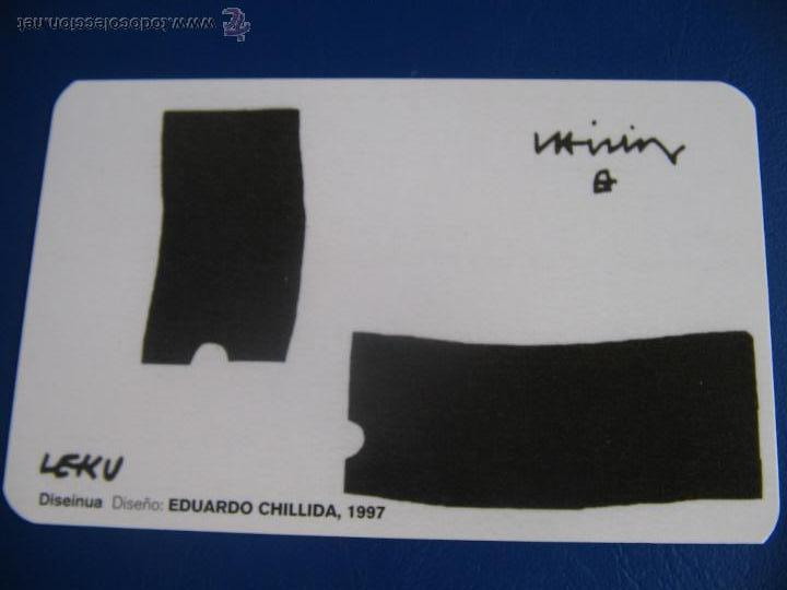 CALENDARIO BOLSILLO BANCO KUTXA (CAJA GIPUZKOA DONOSTIA) 2005 (ARTE. CHILLIDA) (Coleccionismo - Calendarios)