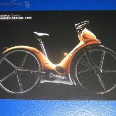Coleccionismo Calendarios: CALENDARIO BOLSILLO . BANCO KUTXA (CAJA GIPUZKOA DONOSTIA) 2005 CICLISMO. BICICLETA. Lote 48497042
