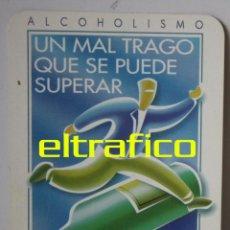 Coleccionismo Calendarios: CALENDARIO DE BOLSILLO ALCOHOLISMO - AÑO 2002, CALENDARIOS. Lote 48963291