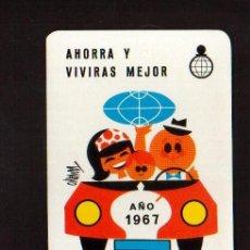 Coleccionismo Calendarios: CALENDARIO FOURNIER 1967 - VER FOTOS NO TE LO PIERDAS EN TU COLECCION. Lote 49052148