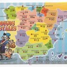 Coleccionismo Calendarios: CALENDARIO CÓDIGOS POSTALES, 1999. Lote 49077253