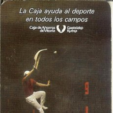 Coleccionismo Calendarios: CALENDARIO FOURNIER - CAJA DE AHORROS DE VITORIA - GASTEIZKO KUTXA - 1987. Lote 49094588