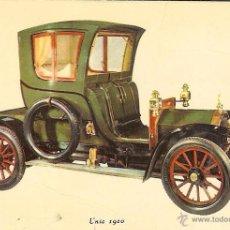 Coleccionismo Calendarios: CALENDARIO DE SERIE - 1970 - GRAY - Nº 104 - UNIC 1910 - AUTOS BALBOA - MADRID. Lote 49150284