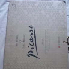 Coleccionismo Calendarios: CALENDARIO THE WORKS OF PABLO PICASSO. Lote 49296166