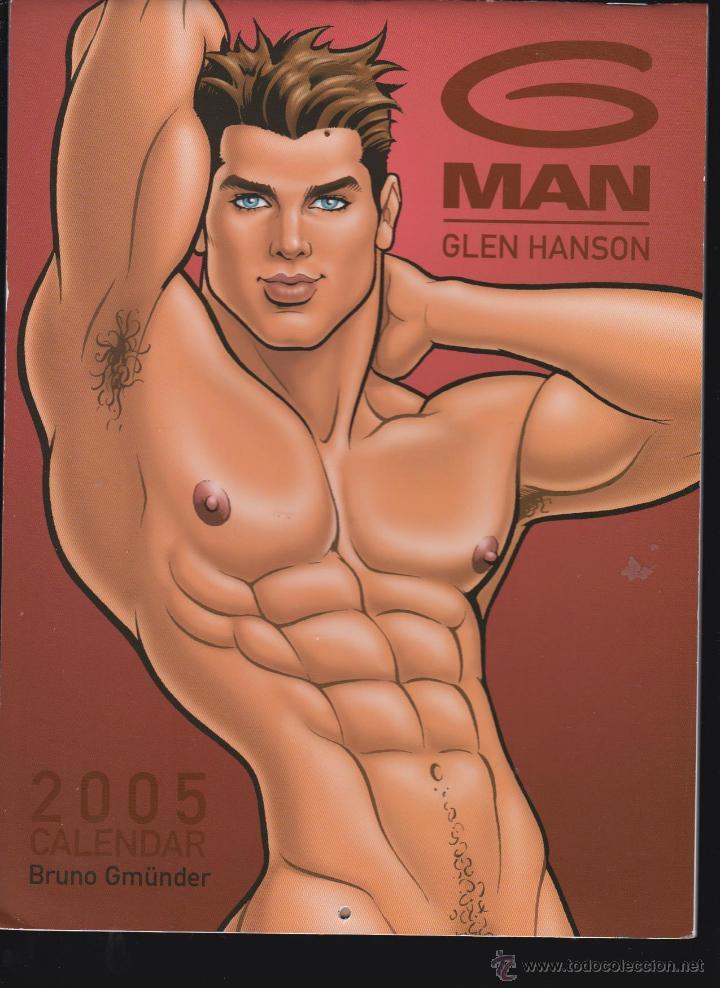 Calendario Gay.G Man Calendar 2005 Glen Hanson Calendario Ilustracion Gay
