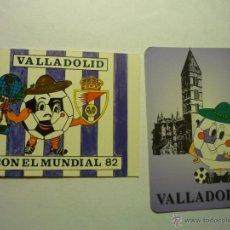 Coleccionismo Calendarios: LOTE CALENDARIOS FUTBOL VALLADOLID 1982-1998. Lote 49439536