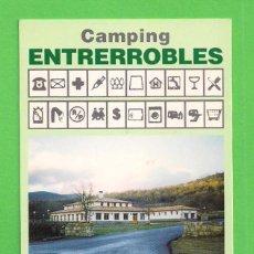 Collezionismo Calendari: CALENDARIO DE BOLSILLO 1997 - CAMPING ENTRERROBLES. - RESERVA NATURAL DE URBIÓN - SORIA.. Lote 49774822