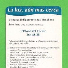 Coleccionismo Calendarios: CALENDARIO DE BOLSILLO 1997. - IBERDROLA. - LA LUZ, AÚN MÁS CERCA.. Lote 171813025