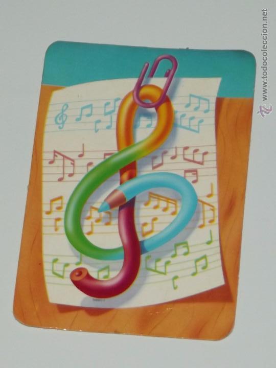 Calendario Dibujo Lapiz Nota Musical Año 1992 Conpublicidad Portugal Ver Descripcion Calendarios B26