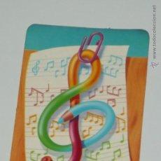 Collezionismo Calendari: CALENDARIO DIBUJO LAPIZ NOTA MUSICAL AÑO 1992 CONPUBLICIDAD PORTUGAL VER DESCRIPCION CALENDARIOS B26. Lote 49850710