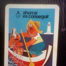 Coleccionismo Calendarios: CALENDARIO FOURNIER CAJA AHORROS 1982. Lote 49900391