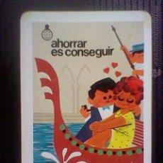 Coleccionismo Calendarios: CALENDARIO FOURNIER CAJA AHORROS MADRID 1982. Lote 49900484