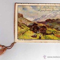 Coleccionismo Calendarios: CALENDARIO DE BOLSILLO 1928. PERFUME ROSA BERTELLI. PERFUMERÍA-FARMACIA. Lote 49990669