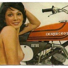 Coleccionismo Calendarios: DERBICROSS - CALENDARIO DE BOLSILLO AÑO 1977. Lote 49996238