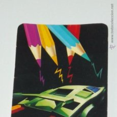 Collezionismo Calendari: CALENDARIO DIBUJO LAPICES COLORES AFILADOR COCHE AÑO 1992 CON PUBLICIDAD PORTUGAL CALENDARIOS B32. Lote 50175752