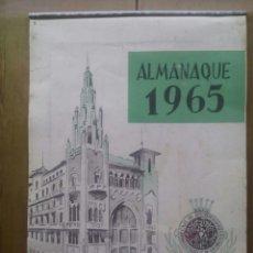 Coleccionismo Calendarios: ALMANAQUE 1965 CAJA DE PENSIONES PARA LA VEJEZ Y DE AHORROS DE CATALUÑA Y BALEARES. Lote 50328750