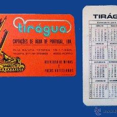 Coleccionismo Calendarios: CALENDARIO SERIE PUBLICIDAD, PUBLICADO PORTUGAL - AÑO:1983 - TIRÁGUA - PORTO. Lote 50377847