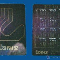 Coleccionismo Calendarios: CALENDARIO SERIE PUBLICIDAD, PUBLICADO PORTUGAL - AÑO:1983 - LORIS - PORTO. Lote 50377856