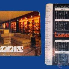 Coleccionismo Calendarios: CALENDARIO SERIE PUBLICIDAD, PUBLICADO PORTUGAL - AÑO:1984 - LORIS (PORTO). Lote 50450385