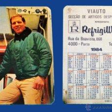 Coleccionismo Calendarios: CALENDARIO SERIE PUBLICIDAD, PUBLICADO PORTUGAL - AÑO:1984 - REFRIGIWEAR - ( PORTO). Lote 50459522