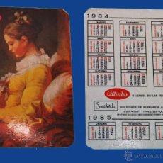Coleccionismo Calendarios: CALENDARIO 1984 - EDITADO EN PORTUGAL - SOCIEDADE DE BORDADOS, LDA.. Lote 50472222
