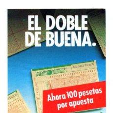 Coleccionismo Calendarios: CALENDARIO PUBLICIDAD 1988 LOTERIA PRIMITIVA. Lote 50623789