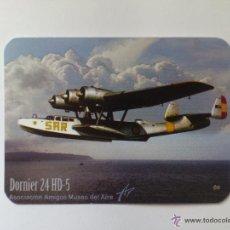 Coleccionismo Calendarios: CALENDARIO DE BOLSILLO MILITAR - MUSEO DEL AIRE - AÑO 2012. Lote 50643739