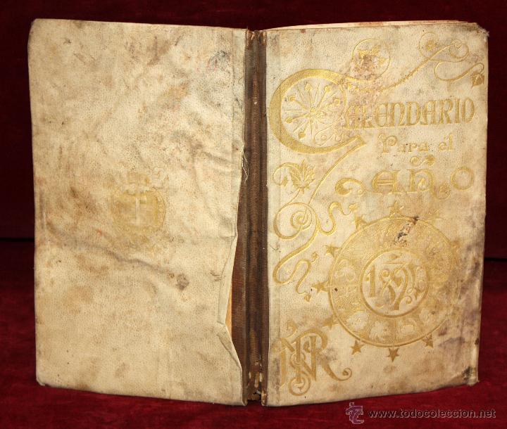 Coleccionismo Calendarios: Precioso libro calendario de 1893. Publicado de Henrich y Cia. Barcelona. - Foto 5 - 50647905