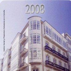 Coleccionismo Calendarios: CALENDARIO FOURNIER, CAIXA NOVA, 2008. Lote 50651319