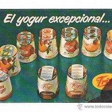 Coleccionismo Calendarios: CALENDARIO ANTIGUO YOGUR FRIGO 1972. Lote 50691368