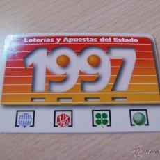 Coleccionismo Calendarios: CALENDARIO DE BOLSILLO LOTERÍAS Y APUESTAS DEL ESTADO 1997. Lote 50763061