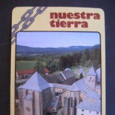 Coleccionismo Calendarios: CALENDARIO CAJA DE AHORROS DE NAVARRA 1989. COLEGIATA DE RONCESVALLES. Lote 50799919