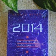 Coleccionismo Calendarios: RECAMBIO SIN ESTRENAR PARA CALENDARIO SOBREMESA DE TACO O BLOQUE BUFETE-DOHE- AÑO 2014. Lote 50824718
