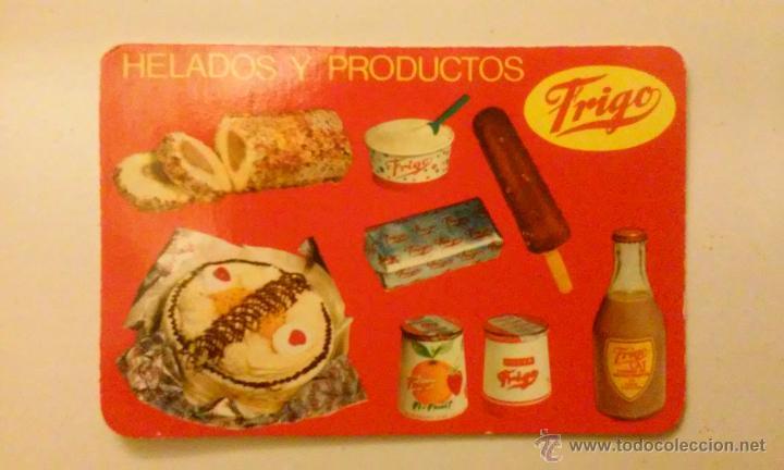 Coleccionismo Calendarios: Tres calendarios helados frigo.Años 1963, 1966, 1967 - Foto 3 - 50827684