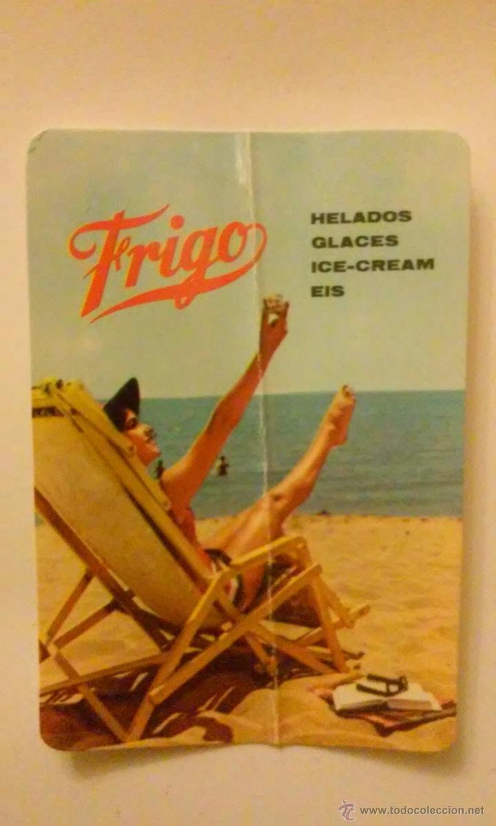 Coleccionismo Calendarios: Tres calendarios helados frigo.Años 1963, 1966, 1967 - Foto 4 - 50827684
