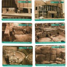 Coleccionismo Calendarios: LOTE DE 6 CALENDARIOS BADALONA 2005 - MUSEU BADALONA 50 ANYS. Lote 89100435